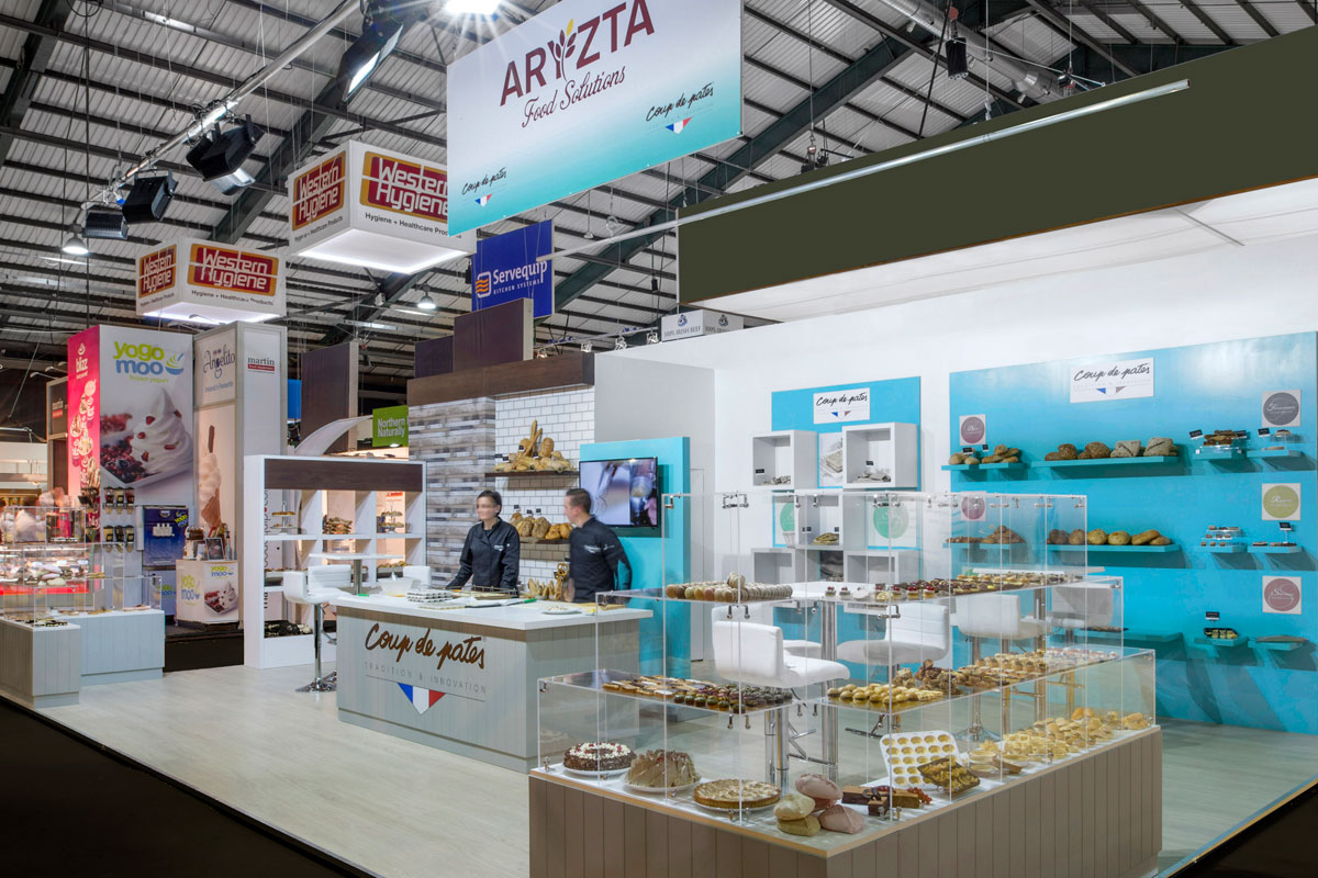 Aryzta Rds Exhibition Stand Design Over And Aboveover