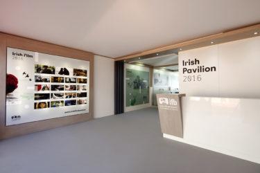 Irish Film Board Exhibition Stand 1