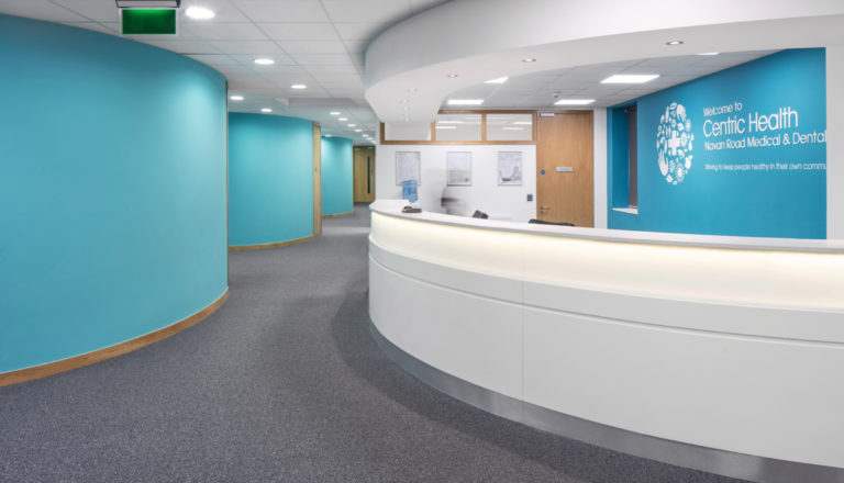 Centric Healthcare over & above interior design