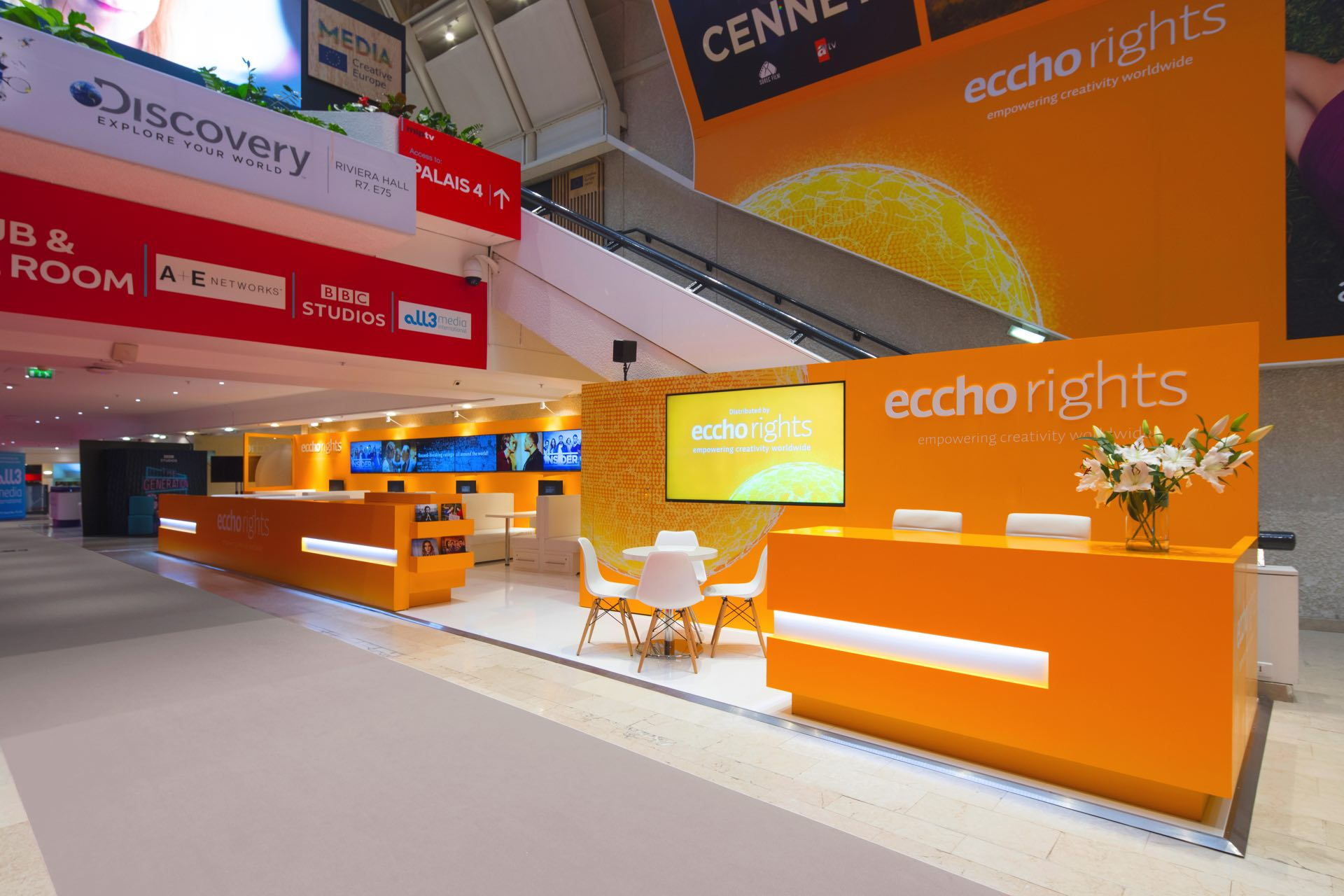 Echo Rights Over & Above Stand Builders Cannes