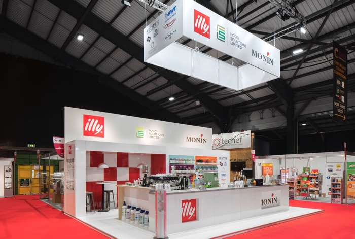 illy exhibit space