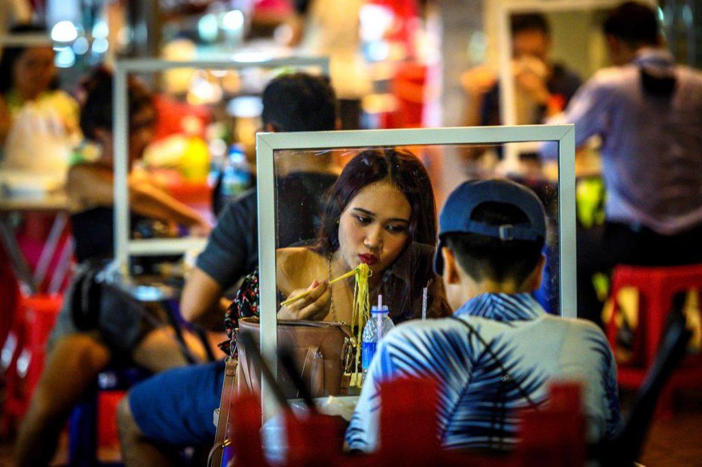 outdoor dining Bangkok