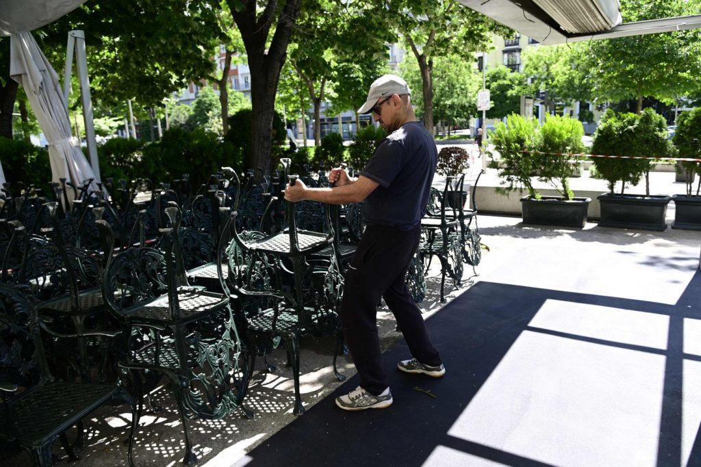 outdoor dining Madrid
