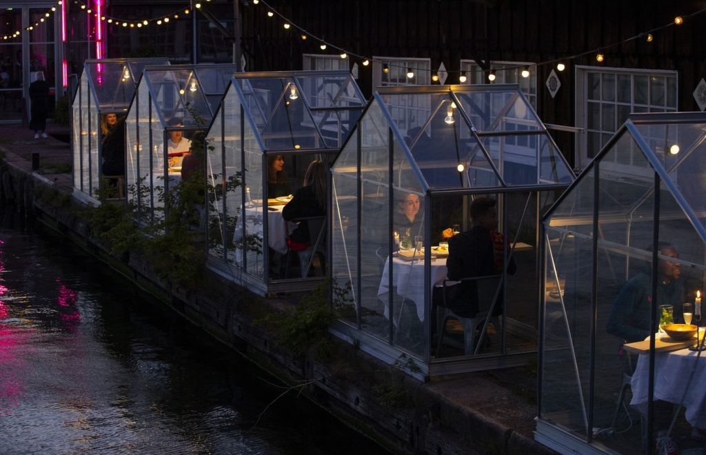 outdoor dining Amsterdam