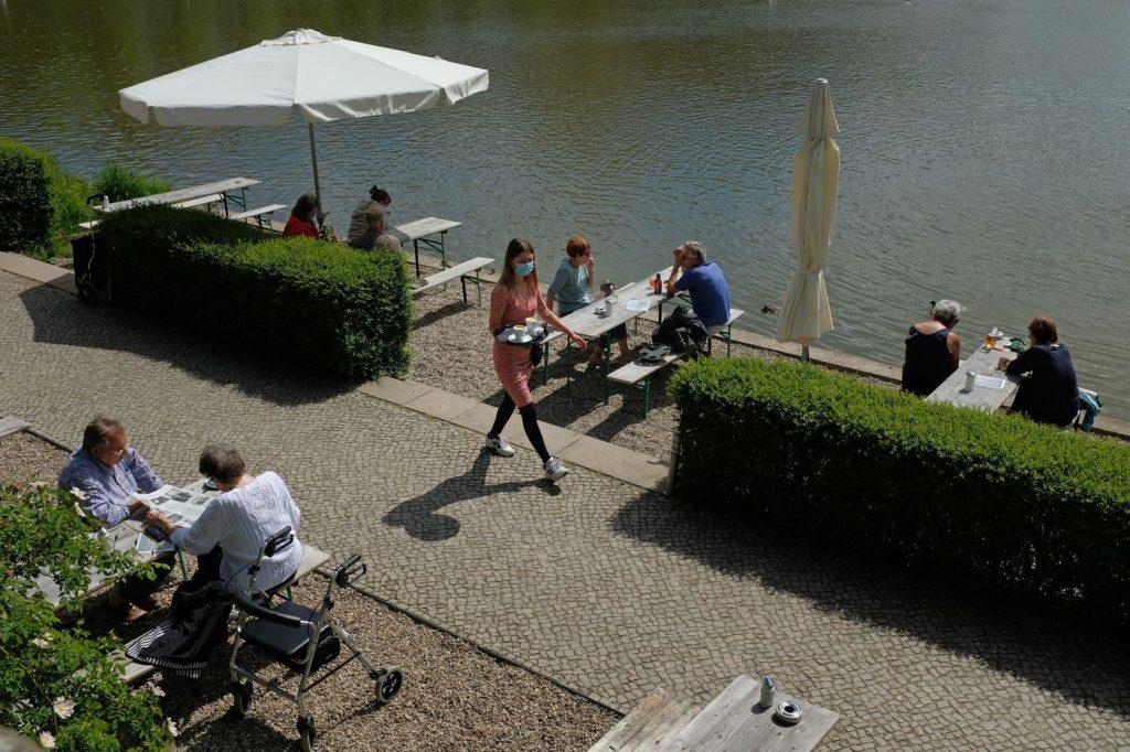 covid19 outdoor dining Berlin
